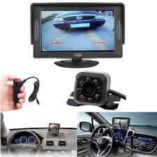 "Car 4.3"" TFT LCD Monitor + 7 LED Rear View Backup Camera with Car Charger"