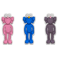 KAWS Magnet BFF Set of 3 NGV Exclusive 2019 Rare Limited Dead Stock Companion