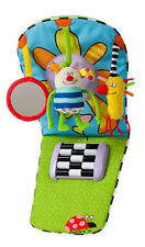 Taf Toys Toe Time Feet Fun Infant Car Toy - Baby Rattle Music, Lights and Mirror