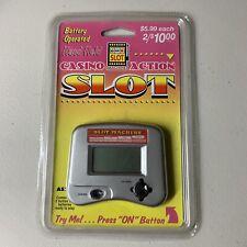 Battery Operated Hand Held Casino Action Slot Machine