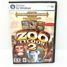 Zoo Tycoon 2 Zookeeper Collection New Sealed Endangered Species in Spanish