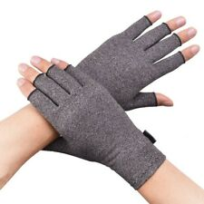 Copper Anti Arthritis Compression Gloves Hand Pain Relief Therapy Wrist Supp-UK