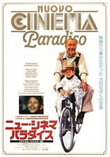 Nuovo Cinema Paradiso Japanese Chirashi Mini Ad-Flyer Poster 1988 Re Tornatore