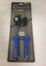 "NEW! Chainsaw sharpening tool kit FAST FILER 5/32"" 3/8LP pitch chain with files"