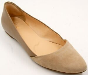 Cole Haan Grand.OS Brown Leather/Suede Women's Flat Shoes Sz 8.5 M