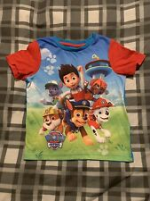 3-5 Y A Pawfect Team Boys Ex Store Nutmeg Characters T-shirt Long Sleeve Top
