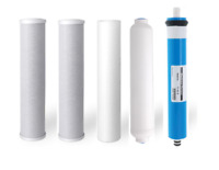 Oceanic Reverse Osmosis Replacement Water Filters+ 50 GPD Membrane | 5 stage RO