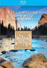 Scenic National Parks - Yellowstone/ Grand Canyon/ Yosemite (Blu-ray Disc, 2008,