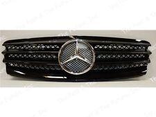 2002 2003 2004 2005 2006 Mercedes Benz E Class W211 Style SL Grille Black Grill