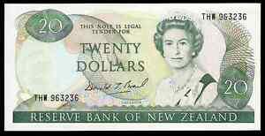 NEW ZEALAND - 1981 / 1992 ISSUE - $20 -  P173c - AU !!