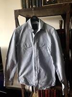 Belstaff Men's Denim Blue Sport Shirt 2Front pockets Size 38