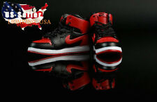 """1/6 Men Shoes Nike Air Sneakers Red For 12"""" Hot Toys Phicen Male Figure ❶USA❶"""