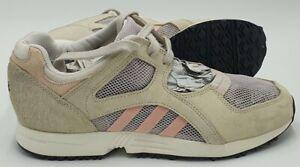 Adidas EQT Racing 91 Suede Low Trainers S79744 Beige/Pink UK6/US7.5/EU39