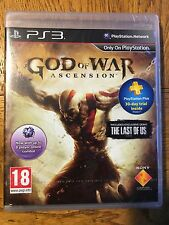God of War Ascension-PS3 SONY FACTORY SEALED!