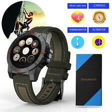 N10B 1.22'' Sport Bluetooth Smart Watch Heart Rate Pedometer Compass Thermometer