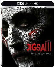 Jigsaw 4K UHD 4K (used) Blu-ray Only Disc Please Read
