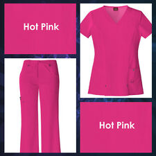 New Dickies Medical Scrubs for Women>Tops or Pants>Assorted Colors>Sizes XXS-2XL