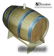 Artisanat/Fût /tonneau/tonneaux de 10 litres Bois Chêne Neuf Robinet en laiton