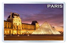 LOUVRE MUSEUM PARIS MOD2 FRIDGE MAGNET SOUVENIR IMAN NEVERA