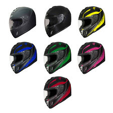 Fulmer Adult Full Face Helmet Motorcycle Street Bike - DOT Approved - 152 Ace
