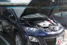 07-12 Mazda CX7 CX-7 SUV Black Strut Gas Lift Hood Shock Stainless Damper Kit