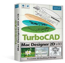 AVANQUEST IMSI TurboCAD Mac Designer 2D V10 Download CAD software NEW