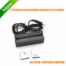 3 Tracks programmable Magnetic card reader Msr100 Usb Otg/Rs232 Us