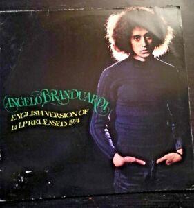 ANGELO BRANDUARDI - ENGLISH VERSION *ANNO1974  -DISCO VINILE 33 GIRI* N.161