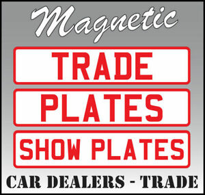 BEST QUALITY, MAGNETIC, REFLECTIVE ON TOW, RECOVERY, NUMBER SIGN PLATE