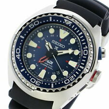 SEIKO SUN065P1 200m Waterproof Navy Prospex Kinetic GMT Diver PADI Edition watch