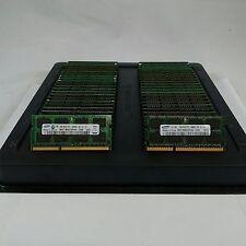 LOT 250 SAMSUNG MICRON HYNIX 2GB DDR3 PC3-10600 1333MHz NONECC SODIMM MEMORY RAM