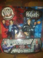 RIC FLAIR vs VINCE McMAHON WWE Ringside Rivals Raging Tempers 2002 Jakks HTF