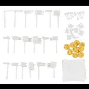 """50 teilig Werkzeug Tools für 2.5'' u. 3.5"""" HDD - Magnetkopf wechseln, reparieren"""