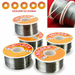 63-37 Tin Lead Rosin Core Solder Wire for Electrical Solderding 0.5-2mm 100g UK