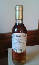 CHATEAU RAYMOND-LAFON 1986 SAUTERNES-FRANCE 0,375 LT