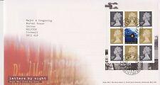 GB Royal Mail FDC Cubierta 2004 Letras por la noche Prestige Panel tallents House