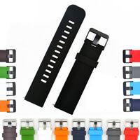 Soft Silicone Watch Band with Quick Release Pins-18mm, 20mm or 22mm Watch Straps