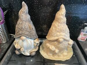 Extra Large garden gonk gnome Latex rubber Mould mold Nordic gnome Statue