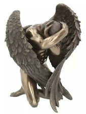 Angels Retreat Angel Figurine BRONZE STYLE NEMESIS NOW 16cms
