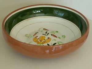 """Vintage STANGL Tiger Lily 9 3/4"""" Serving Bowl"""
