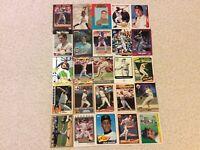 HALL OF FAME Baseball Card Lot 1980-2020 LOU GEHRIG WILLIE MAYS TOM SEAVER