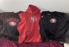 Nike San Francisco 49ers On Field Sweaters Size XXL Lot Of 3