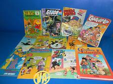 Lote coleccionismo años 80 comics de nuestra infancia-11 comics y un libro