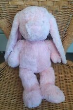 """Design A Bear Pink Cuddly Rabbit Toy By Chad Valley Plush Comforter 16"""""""