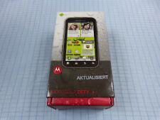 Original Motorola Defy+ 2GB Graphitgrau! Ohne Simlock! TOP ZUSTAND! OVP! RAR!