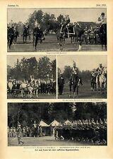 Der russische Zar & Zarin bei der Pawlowffschen Regiments-Feier c.1906