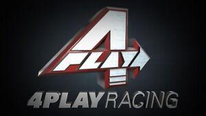4 PLAY RACING Competition Platform Race Seat Simulator Sim Rig Cockpit Gaming