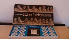 RARE ANNI 1970 Gioco da Tavolo per Adulti-CUBE Fusion-Waddingtons 1970-STRATEGIA MODULARE