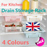 Stretchable Storage Rack Refrigerator Partition Layer Organizer for Kitchen UK