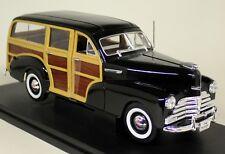 NEX modelli in scala 1/18 - 19848 1948 CHEVROLET Fleetmaster Woody Auto Modello Diecast